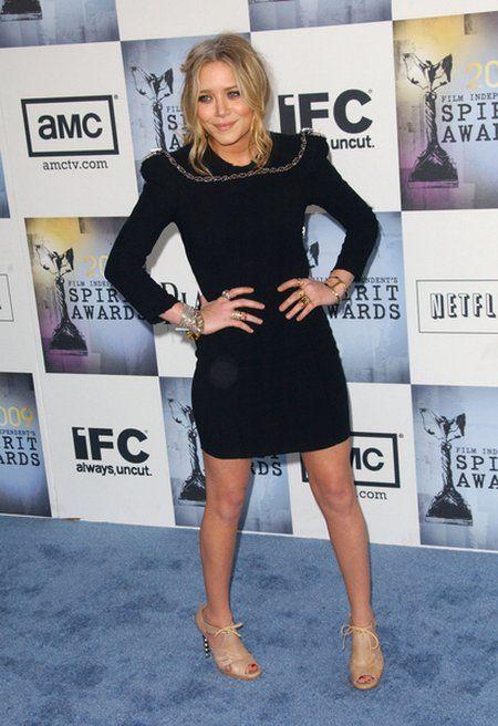 Gdzie jest szyja Mary-Kate Olsen?