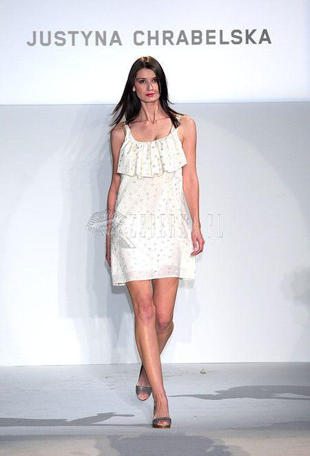 pokaz mody Justyny Chrabelskiej