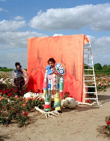 Pokaz mody według Tima Burtona