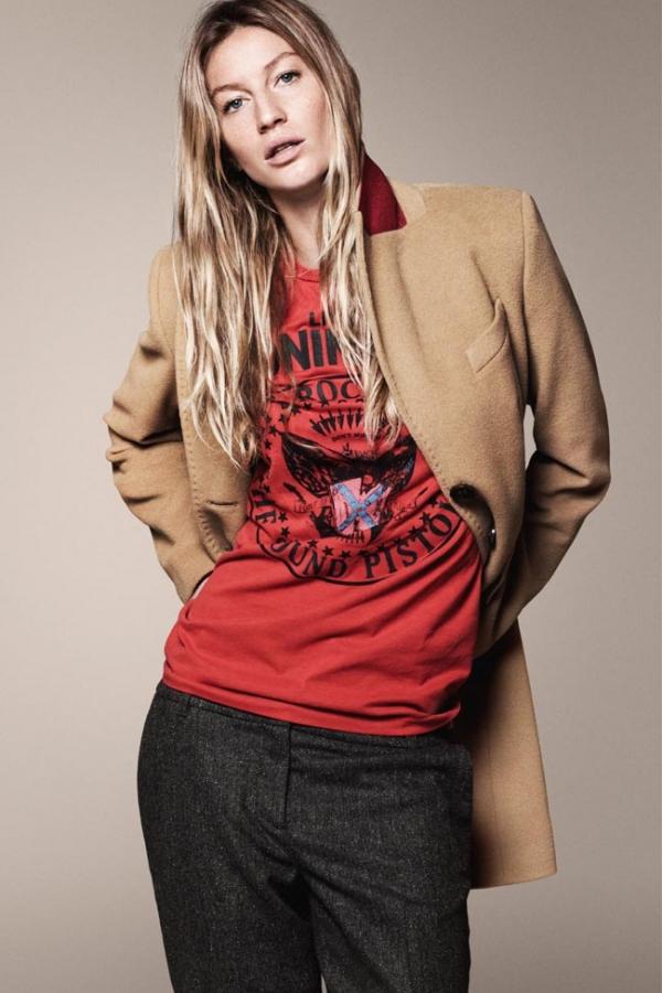 Gisele Bundchen w kampanii Esprit