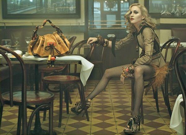 Madonna dla Louis Vuitton