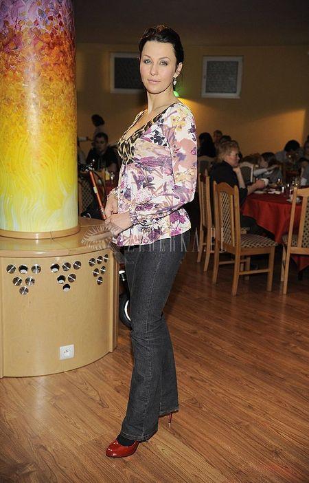 Kwiatowo-lamparcia bluzka Anny Popek