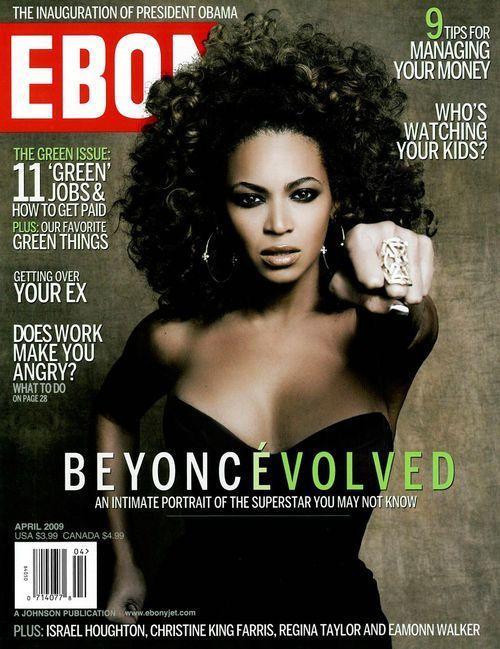 Beyonce dla magazynu Ebony