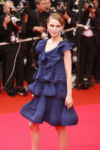 Falbanki Natalie Portman