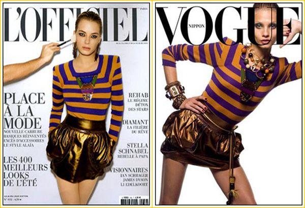 Dwie okładki – ten sam Louis Vuitton
