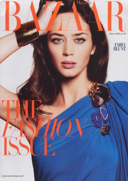 Emili Blunt dla Harper's Bazaar