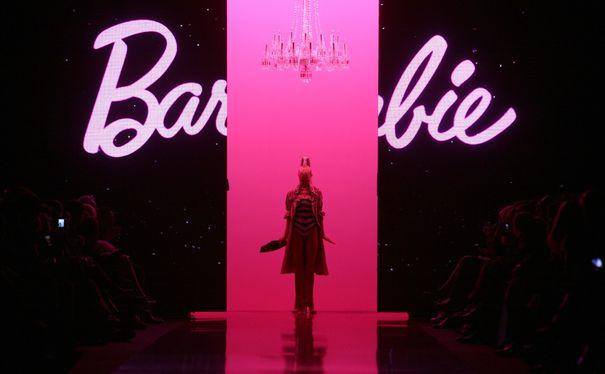 Barbie na wybiegu