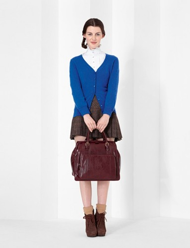 ...bags, waistcoats, 'Chinos' trousers, mini skirts, cardigans, colorful...