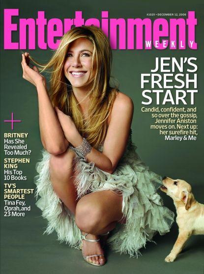 Jennifer Aniston na słodko