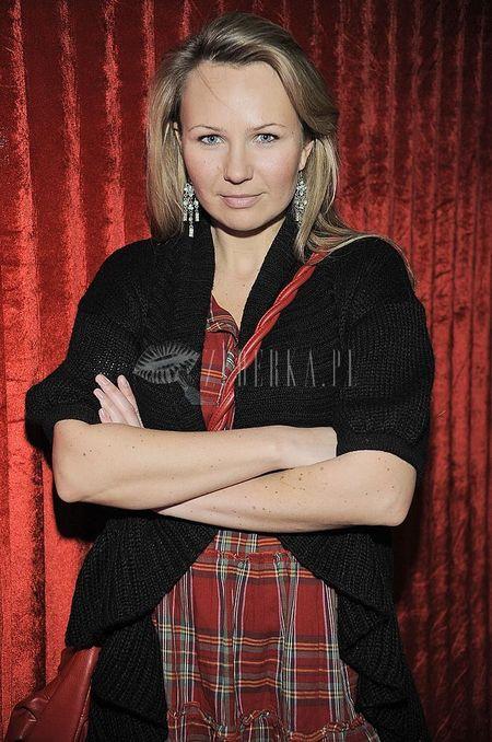 Ania Guzik w kratkę
