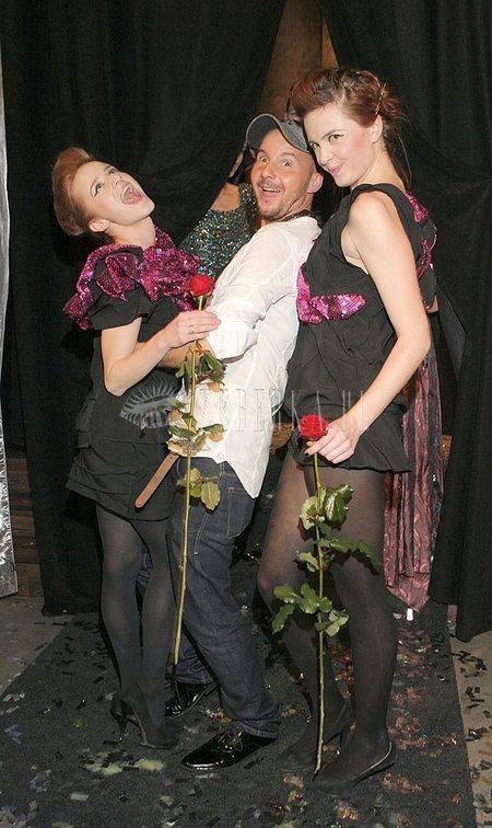 Dębska i Burzyńska na pokazie Kałuży