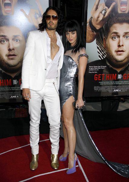 Katy Perry w srebrze od Georgesa Chakry