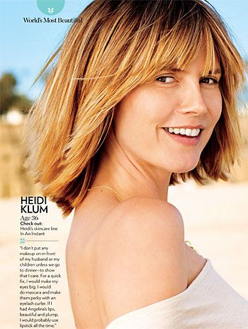 Heidi Klum w magazynie People