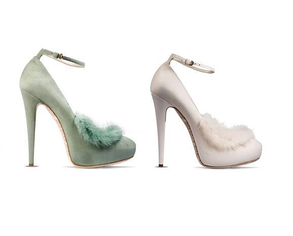 John Galliano - buty z kolekcji AW 2011