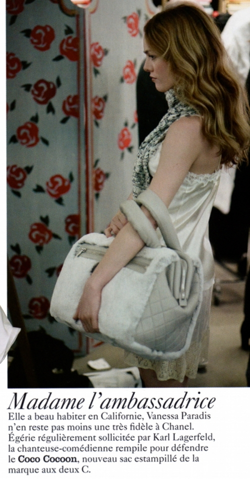 Vanessa Paradis dla Chanel