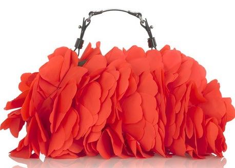 Torebka w serduszka Marni Ruffle heart bag