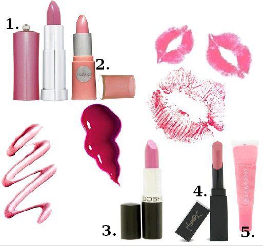 Usta w kolorze różu
