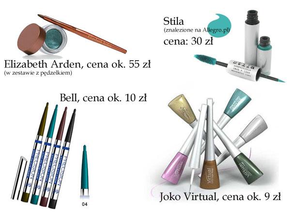 Tropimy trendy: eyeliner w kolorze mięty