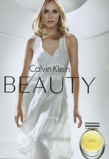Diane Kruger w Kampanii Calvina Kleina