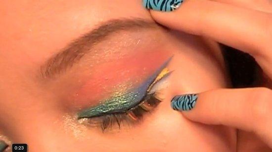 Makijaż inspirowany Avatarem