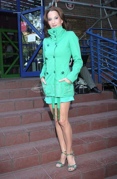 Justyna Steczkowska monochromatycznie