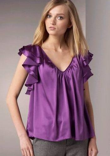 Romantyczne bluzki