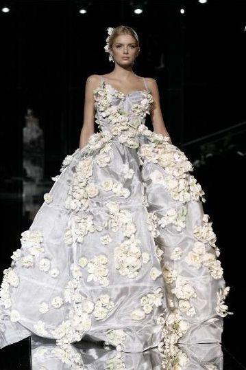 Nicole Richie w ślubnej sukni