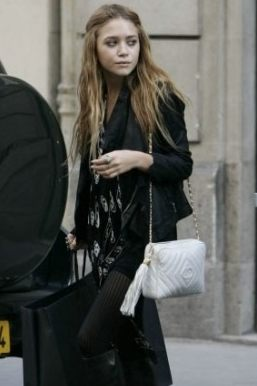 Mary Kate Olsen vintage bag chanel