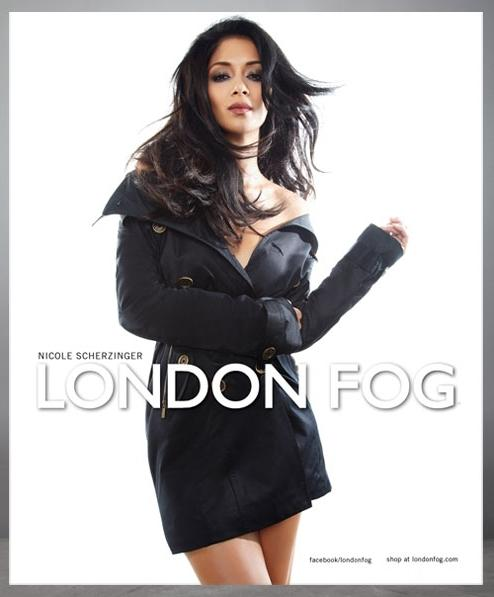 Nicole Scherzinger for London Fog