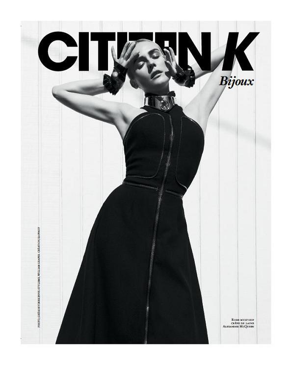 Diane Kruger na okładkach Citizen K