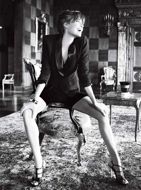 Angelina Jolie w Vogue