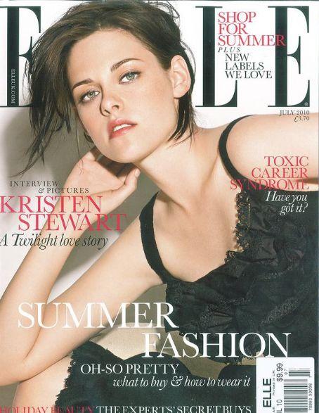 Kristen Stewart w Elle UK