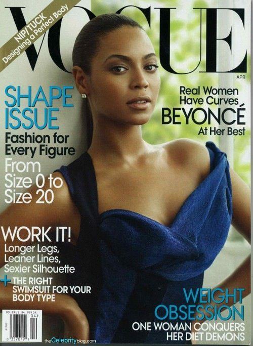 Beyonce na okładce Vogue'a