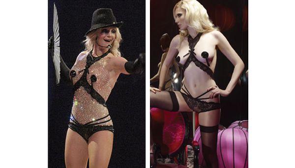 Britney Spears w bieliźnie Agent Provocateur