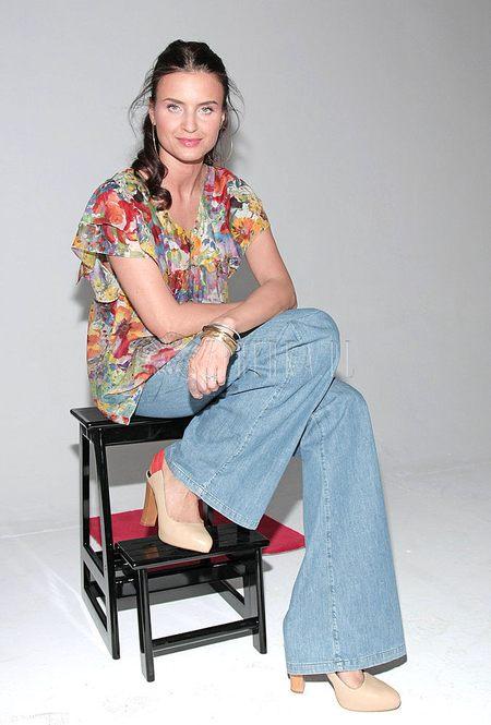 Joanna Horodyńska w bluzce Stelli McCartney
