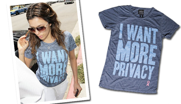 Eva Longoria chce prywatności