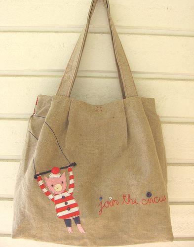 płócienne torby
