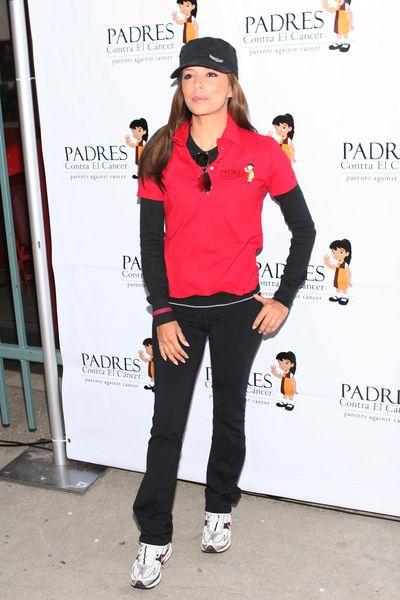 Eva Longoria na sportowo