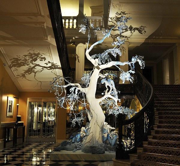 Drzewko świąteczne projektu Galliano