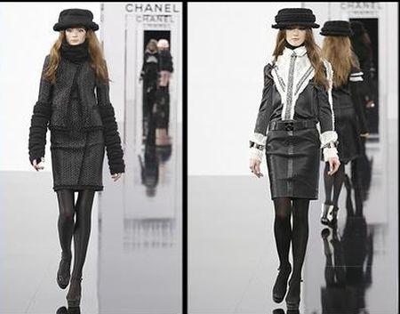 Pokaz mody Chanel jesień/zima 2009/10