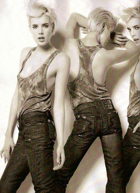 Agyness Deyn jako nowa Kate Moss