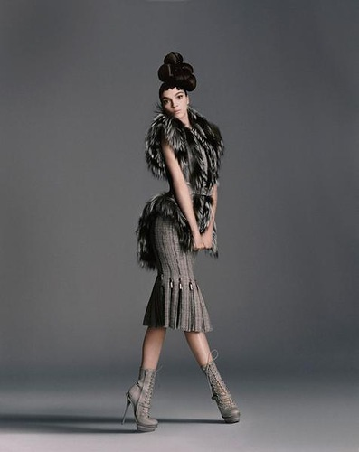 Mariacarla Boscono dla Bergdorf Goodman