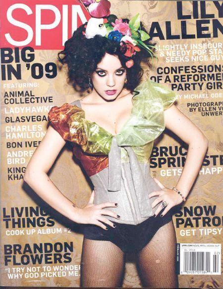 Lily Allen nie tak szczupła jak w magazynach