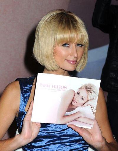 Paris Hilton promuje okulary