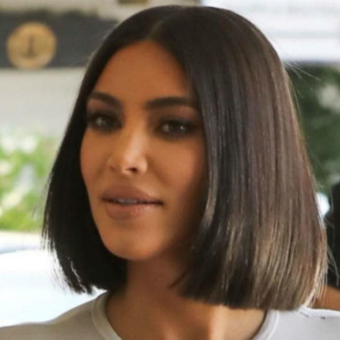 Szok! Kim Kardashian wyszła na ulicę bez makijażu