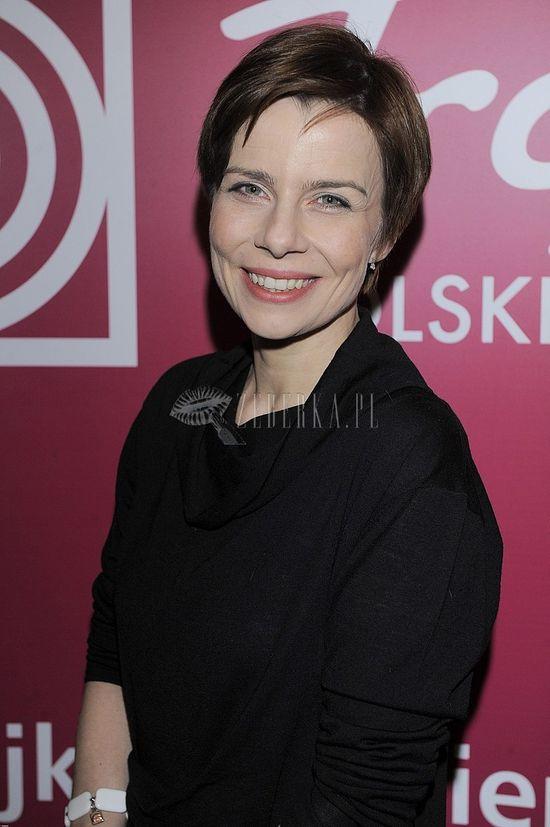 Agata Kulesza wróciła do wcześniejszej fryzury
