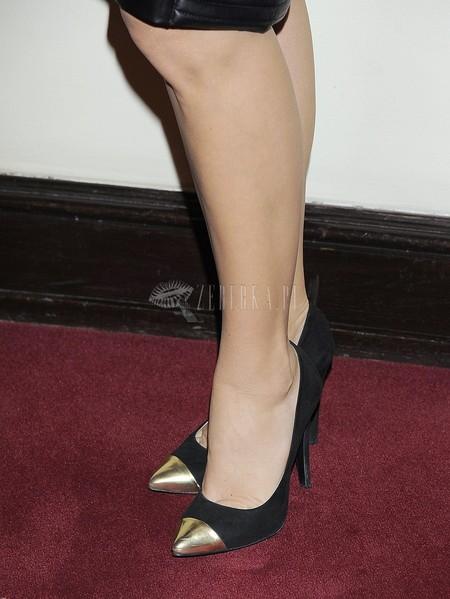 Aleksandra Kisio i jej buty z metalowym czubem (FOTO)