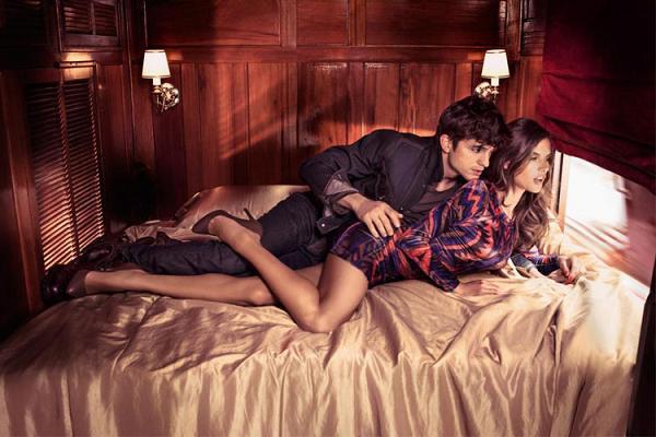 Alessandra Ambrosio i Ashton Kutcher po raz kolejny dla Colc