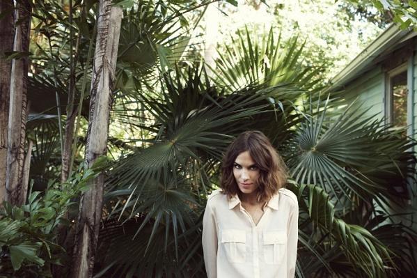 Alexa Chung w kwietniowym katalogu Vero Moda