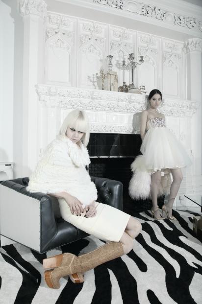 Alice + Olivia w stylu Dynastii